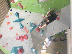 IMG 3426 300x225 - Technik Training in der Boulderhalle