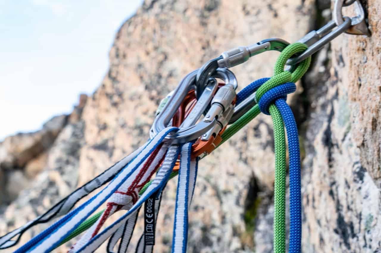 Titelbild Knotentechnik - Sicherungspraxis- Knotentechnik