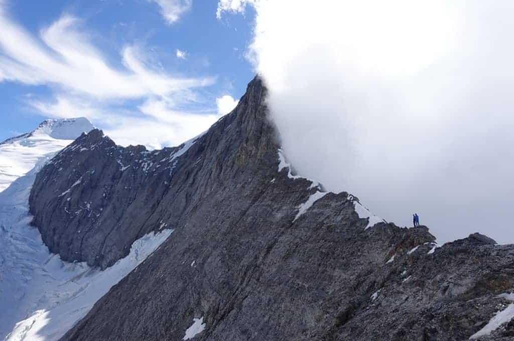 Titelbild Gedankenchaos waehrend Hochtouren 1024x680 - Mentale Stärke am Berg - Was zählt am Berg?