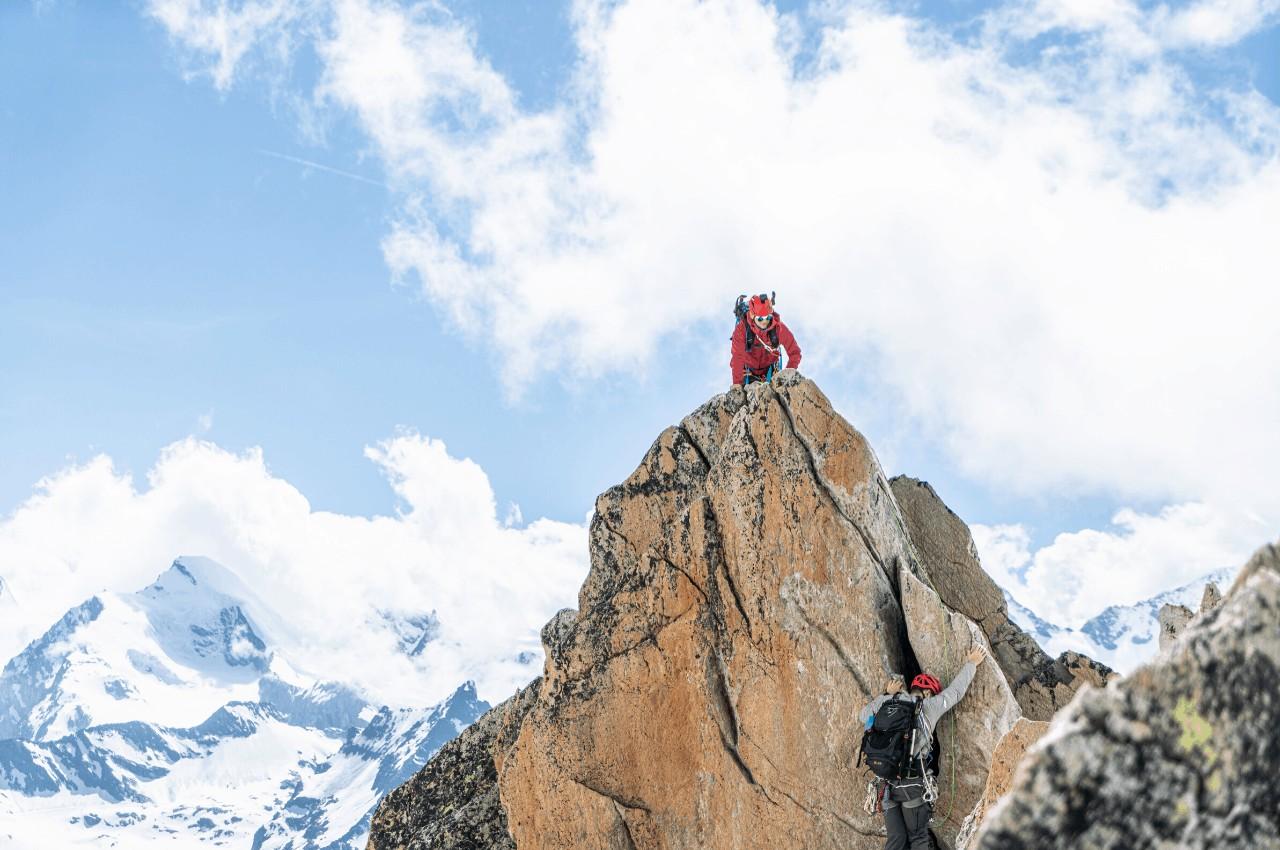 Titelbild Ordnung am Gurt - Ordnung beim Bergsteigen und Klettern