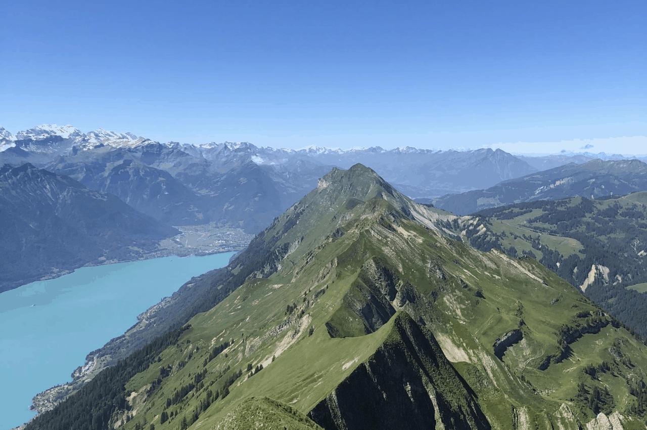Titelbild Tourenbericht Briezner Gratwanderung - Brienzer Gratwanderung - ein schmaler Grat