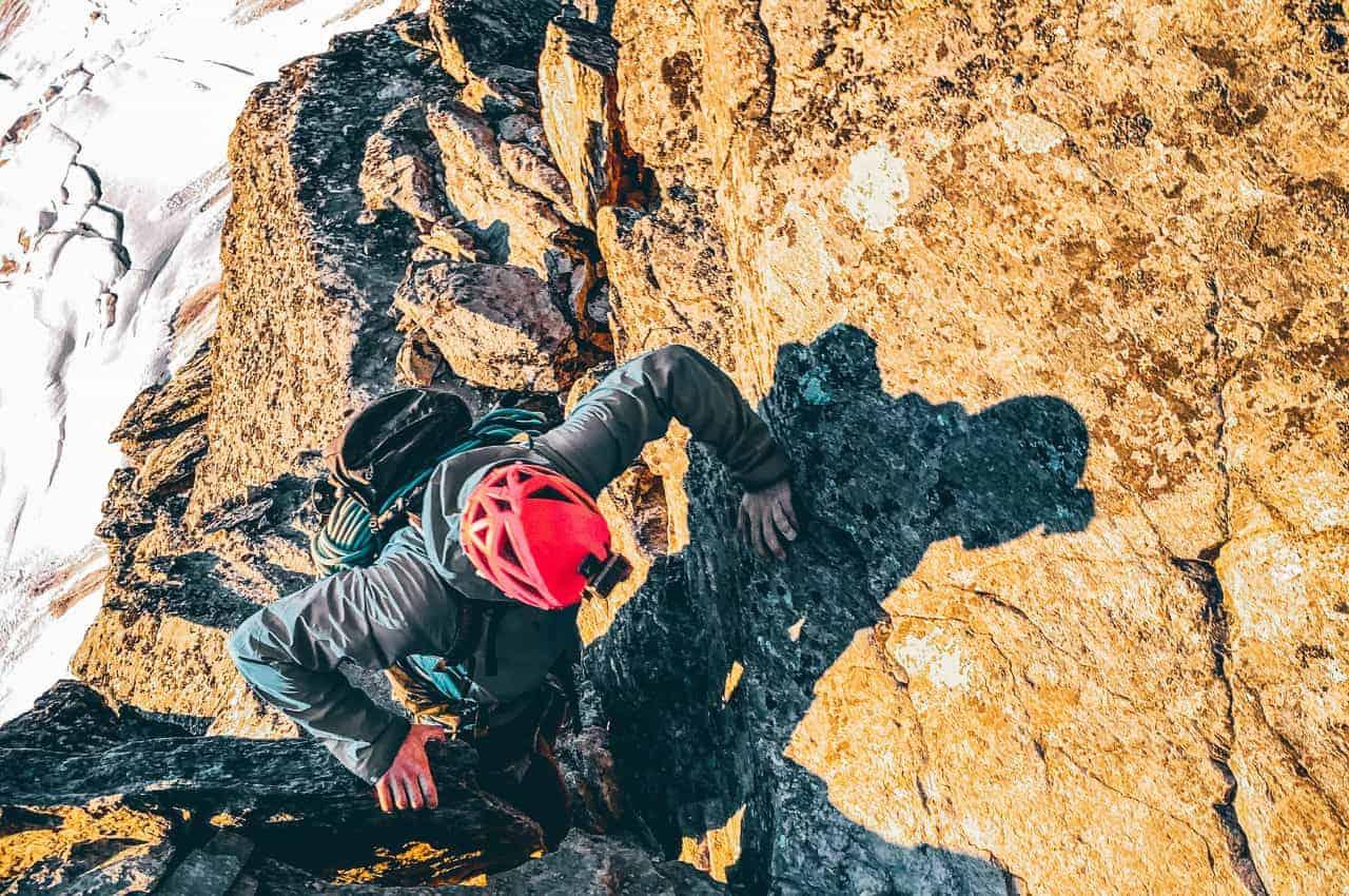 Klettern im Wallis