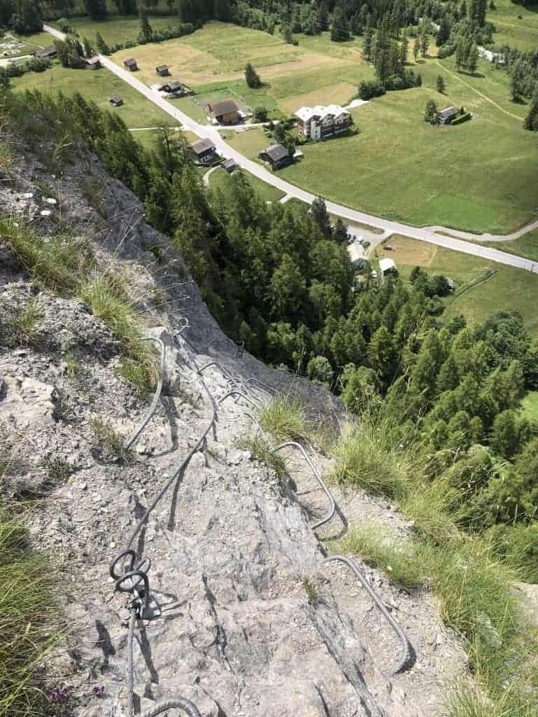 IMG 9706 768x1024 - Evolene - kurzer Klettersteig für Zwischendurch