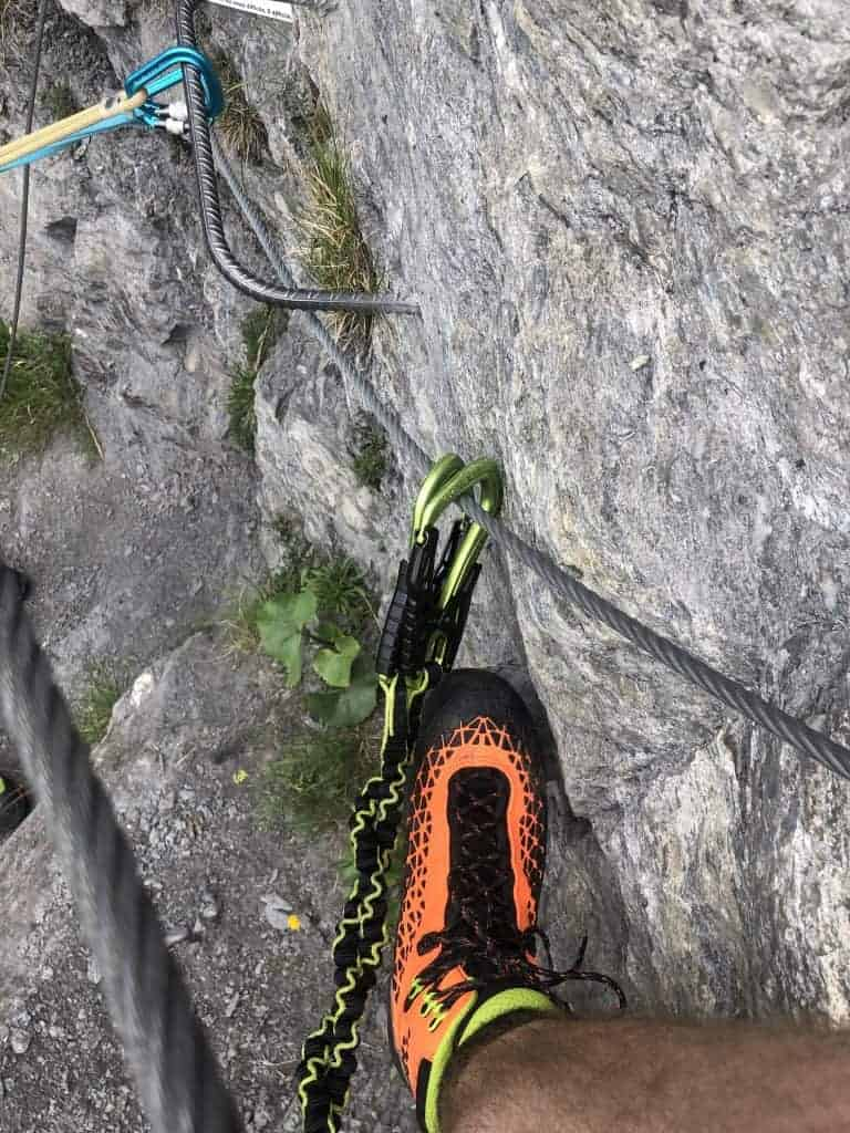 IMG 9713 1 768x1024 - Evolene - kurzer Klettersteig für Zwischendurch