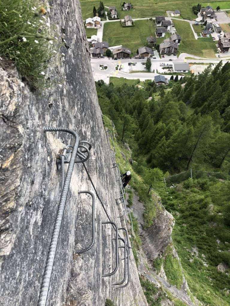 IMG 9727 1 768x1024 - Evolene - kurzer Klettersteig für Zwischendurch