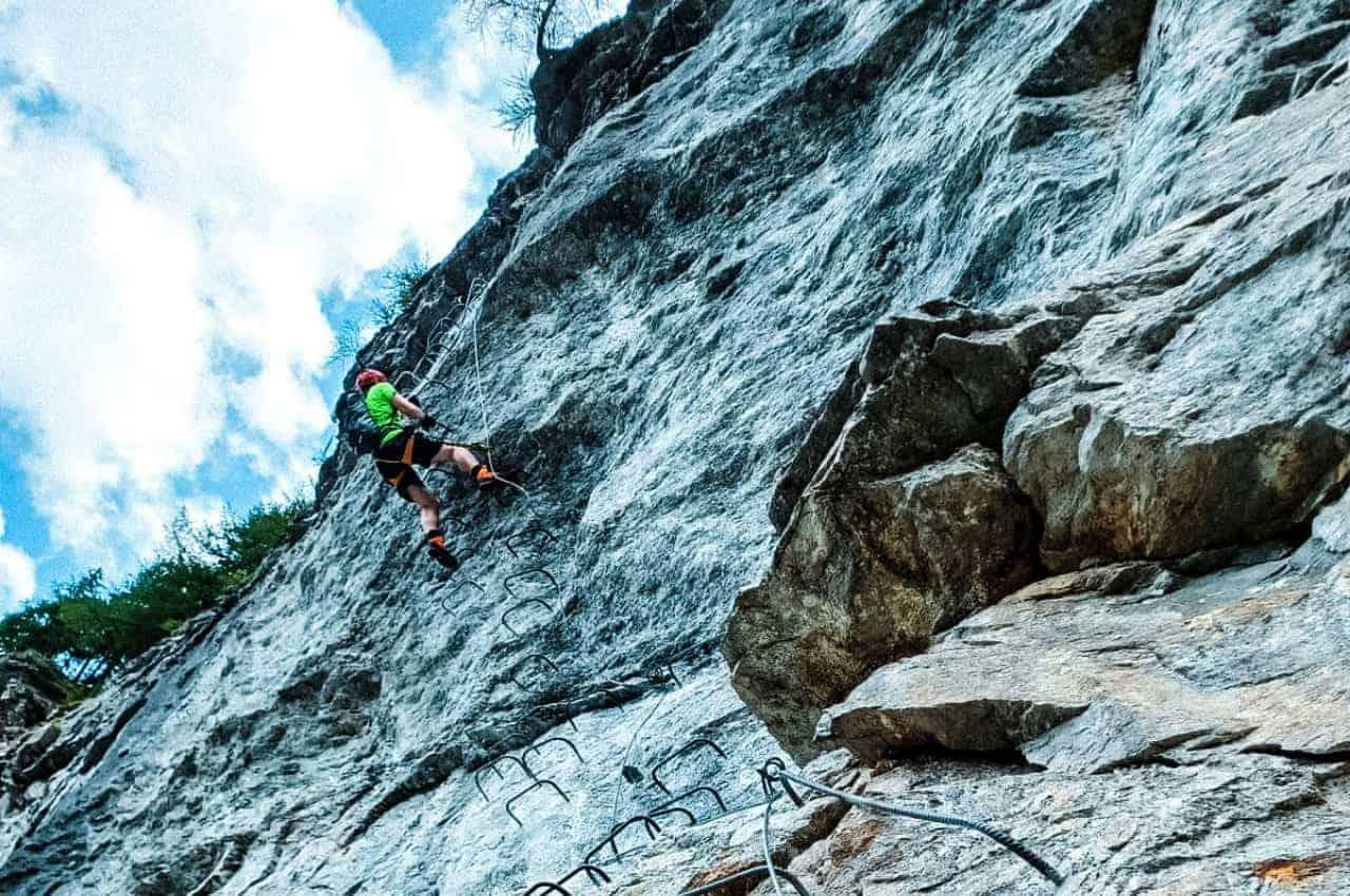 Evolene Klettersteig - Bergsteigen in der Schweiz