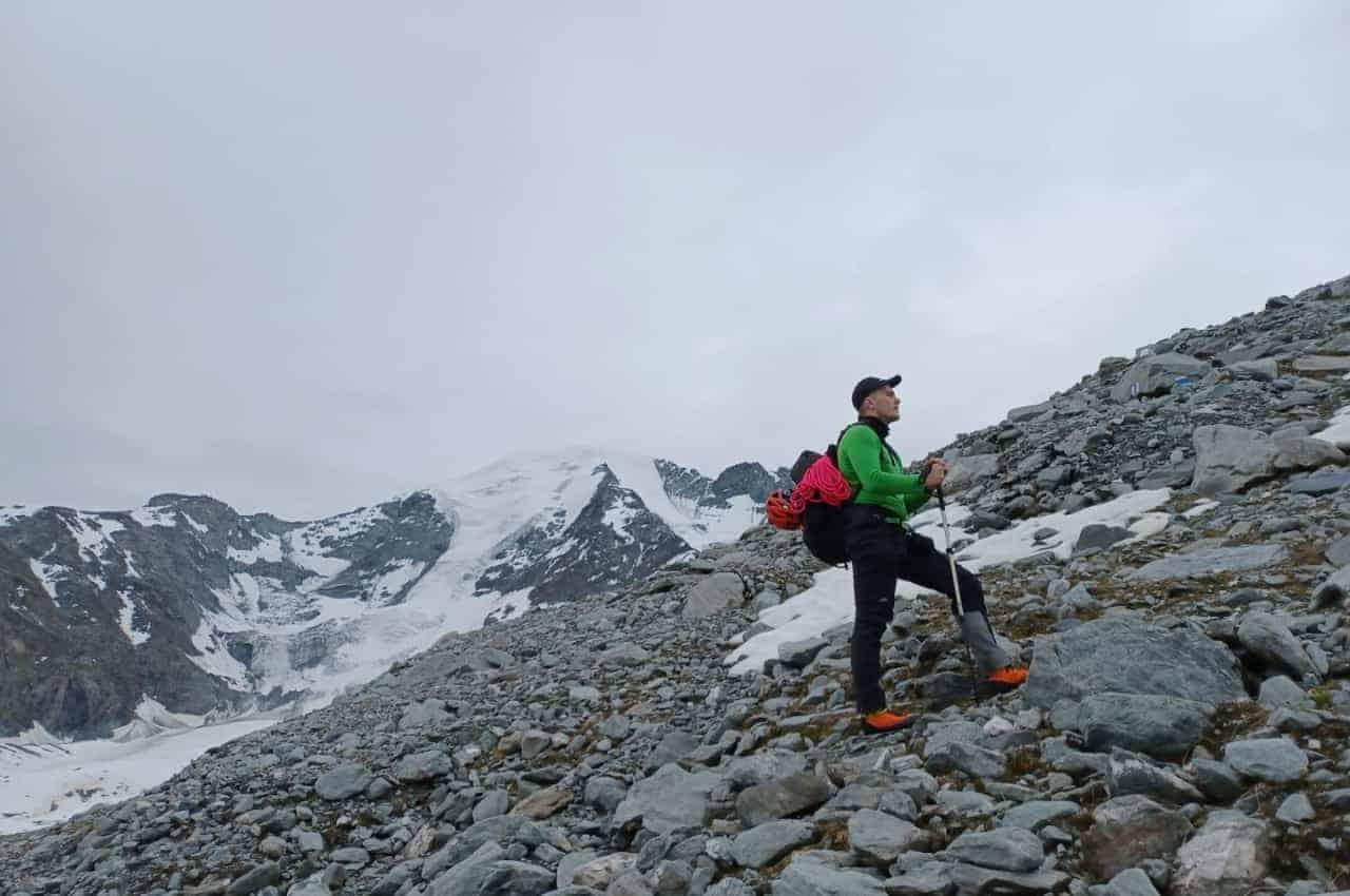 Petit Combin - Bergsteigen im Wallis