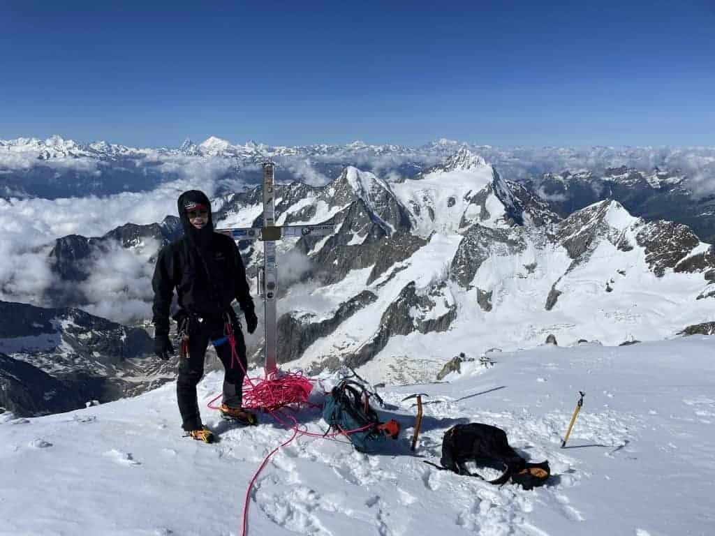 IMG 6955 1 1024x768 - Aletschhorn – Erster 4000er 2021