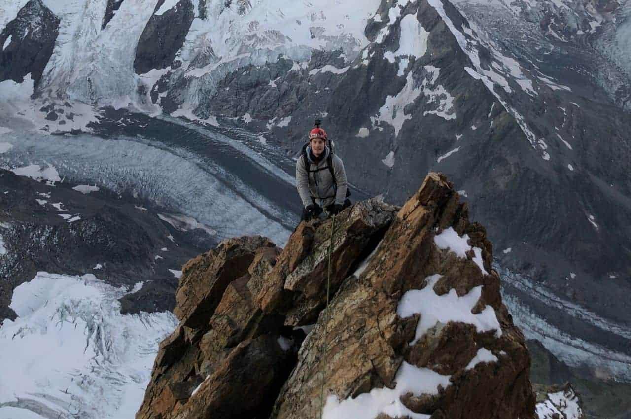 Schreckhorn Besteigung über den Normalweg